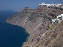Santorini - la Grecia Fotografia Stock Libera da Diritti