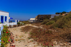 Santorini land for sale Royalty Free Stock Images
