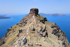 Santorini Landscape Royalty Free Stock Photo