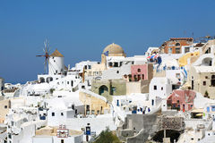Santorini Landscape Royalty Free Stock Photos