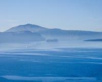 Santorini Landschaft Lizenzfreies Stockbild