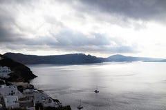 Santorini in the morning Stock Photography