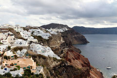 Santorini in the morning Royalty Free Stock Image