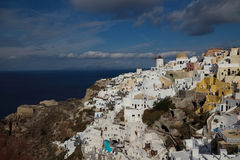 Santorini in the morning Royalty Free Stock Images
