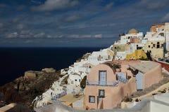 Santorini in the morning Royalty Free Stock Image