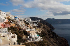 Santorini in the morning Royalty Free Stock Photography