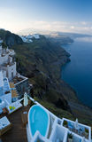 Santorini morning Stock Photos