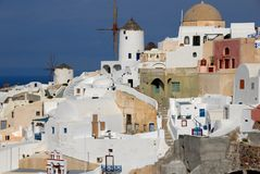 Santorini - Oia - Stock Photo