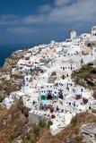 Santorini Oia Fotos de archivo