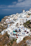 Santorini Oia Stock Foto's