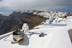 Santorini Oia Royalty-vrije Stock Afbeelding