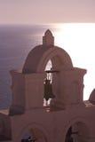 Santorini Oia Stock Afbeeldingen