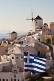 Santorini Oia Fotos de archivo libres de regalías