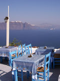 Santorini oia Photos libres de droits