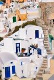 Santorini Oia stockbilder
