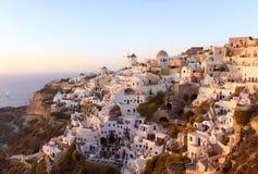 Santorini Oia lizenzfreie stockbilder