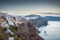 Santorini Oia Lizenzfreies Stockbild