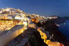 Santorini, Oia Stockfoto