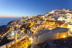 Santorini, Oia Stockbilder