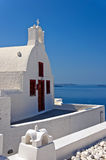 Santorini Oia Church 02 Stock Photo