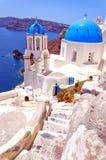 Santorini Oia Church 05 stock image