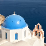 Santorini Oia Church 07 Stock Image