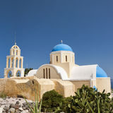 Santorini Oia Church 09 Stock Photography