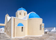 Santorini Oia Church 10 Royalty Free Stock Photo