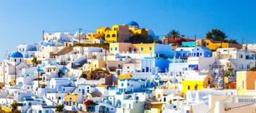 Santorini OIA Grecia Fotografia Stock Libera da Diritti