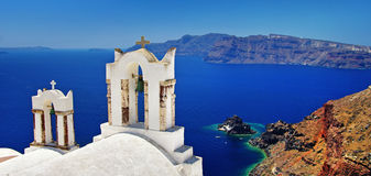 Santorini, Oia town Royalty Free Stock Images