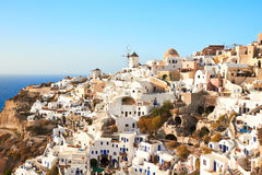 Santorini Oia view Royalty Free Stock Image