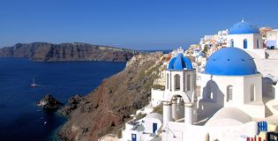 Santorini, Oia village Stock Photo