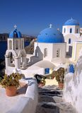 Santorini, Oia village Royalty Free Stock Photography