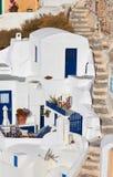 Santorini Oia royalty free stock images