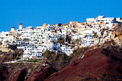 Santorini, Oia village. Stock Photos
