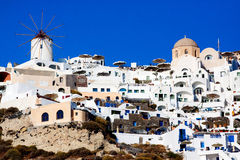 Santorini, Oia village. Stock Photo