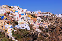 Santorini panorama Stock Images