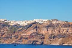 Santorini panorama Stock Images