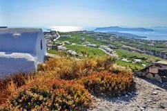 Santorini panorama Royalty Free Stock Photo