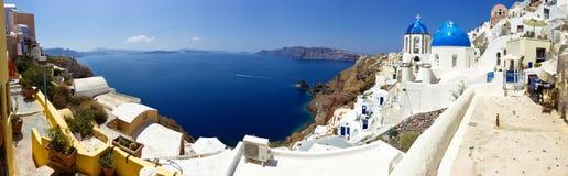 Santorini Panoramic Stock Images