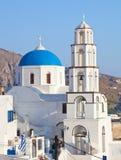 Santorini, Pyrgos, Theotokaki Church Royalty Free Stock Photography