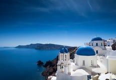 Santorini salighet Royaltyfria Bilder