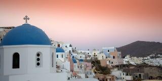 Santorini scena obrazy royalty free