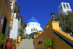 Santorini scene Stock Images