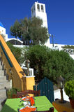 Santorini scene Stock Photo