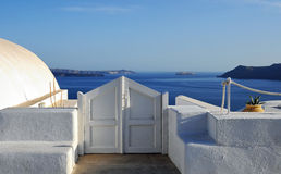 Santorini sea view Royalty Free Stock Photography
