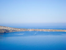 Santorini  sea  view Royalty Free Stock Photos
