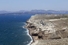 Santorini seaview Zdjęcie Royalty Free