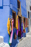 Santorini, a small shop Stock Images