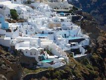 Santorini sommar royaltyfri fotografi